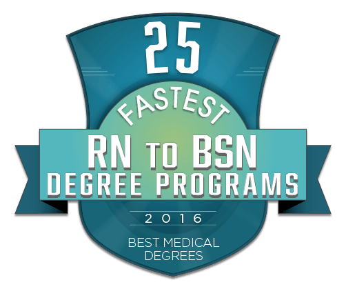 25 fastest rn to bsn degree programs 2016 bestmedicaldegrees com