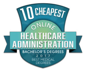 10 CHEAPEST ONLINE BACHELOR DEGREES IN HEALTHCARE ADMINISTRATION