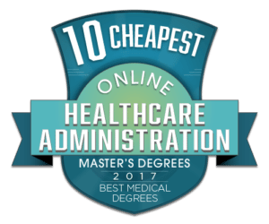 10 CHEAPEST ONLINE MASTERS OF HEALTHCARE ADMINISTRATION