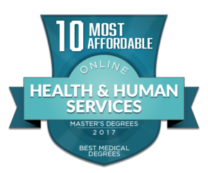 10 MOST AFFORDABLE ONLINE MASTERS DEGREES IN HEALTH AND HUMAN SERVICES