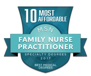 10 MOST AFFORDABLE MSN FAMILY NURSE PRACTITIONER SPECIALTY DEGREES