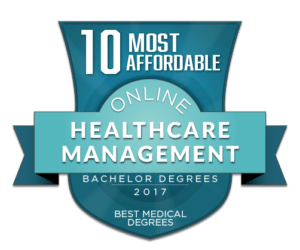 10 Most Affordable Online Healthcare Management Bachelor Degrees