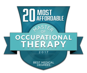 20 MOST AFFORDABLE MASTER OF OCCUPATIONAL THERAPY DEGREE PROGRAMS