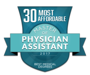 30 MOST AFFORDABLE MASTER OF PHYSICIAN ASSISTANT (MSPA) PROGRAMS