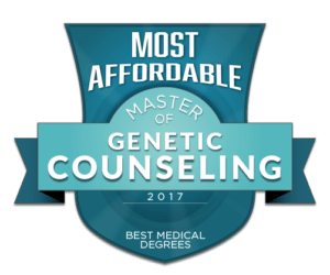 Most Affordable Masters in Genetic Counseling Programs 2017